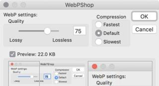 WebP公式のPhotoshopプラグイン WebPShop登場