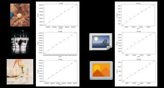 検証 Web画像のファイルサイズは画素数にほぼ比例する