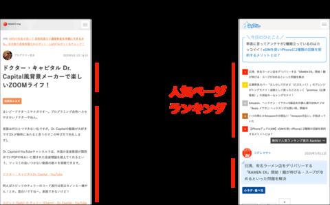 大胆な人気記事ランキングファーストでブログの回遊率UP! ネタフルがRankletを記事より上に表示する理由